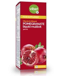 Pomegrante Liquid Multivit vibe