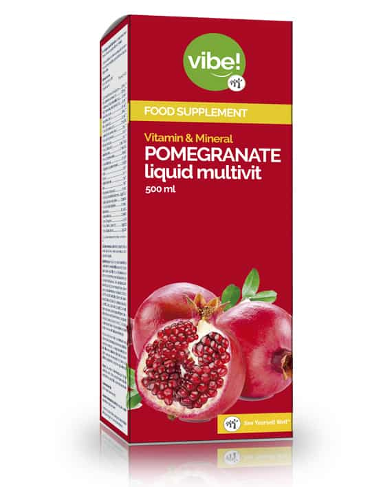 Pomegranate Liquid Multivit vibe